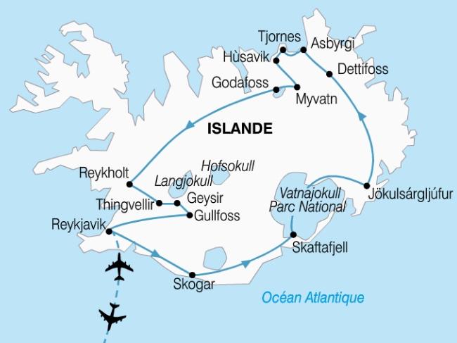 Circuit islande, l'essentiel de l'islande 9 jours - Amiclub